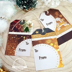 Easy Last Minute Christmas Gift Tags