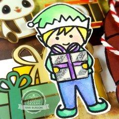 CHRISTMAS EVE RUSH HOUR Card