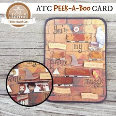 Harry Potter ATC Peek-a-Boo Card for Paper House Productions