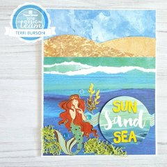 Mermaid at Sea Card