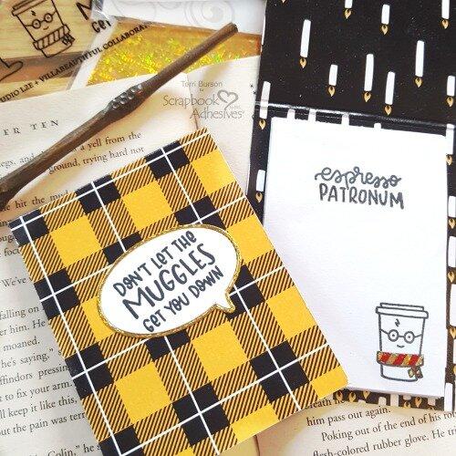 Harry Potter Themed DIY Sticky Note Pads