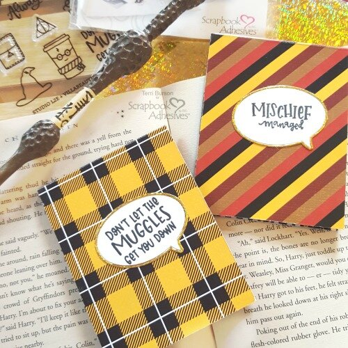 Harry Potter Themed DIY Sticky Note Pads