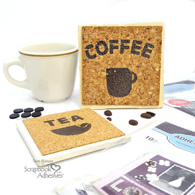 Upcycled Coffee / Tea Coasters (Altered Art)