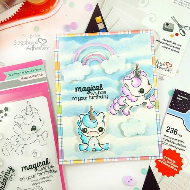 Magical Unicorn Card with Technique Videos