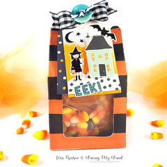 Halloween Treat Box featuring Crate Paper Hey Pumpkin
