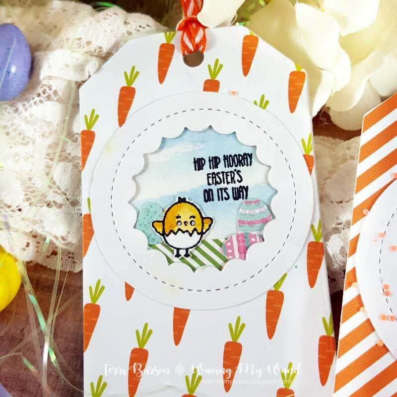 Easter Tags featuring Echo Park Paper
