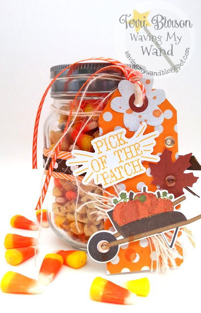 Design Team project for DoubleClick Skittles Embellishment line- gift tag