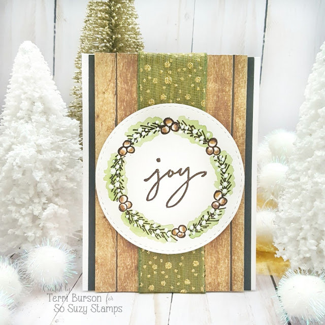 Christmas Joy featuring my 1st stamp designs!  Plus EPP A Perfect Christmas