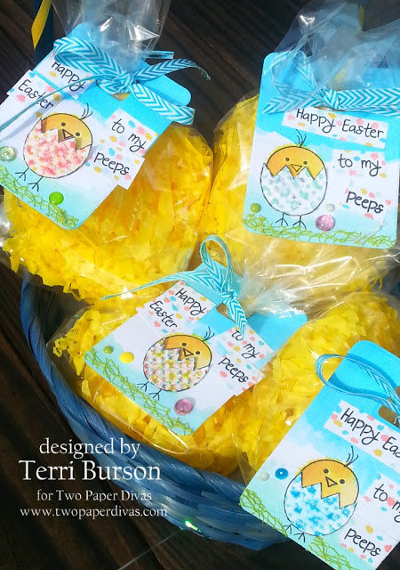 Easter Treat bags and Tags