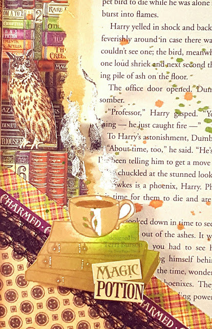 Harry Potter Card featuring Graphic 45 Rare Oddities