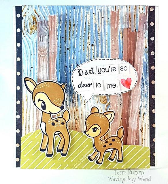 Cutesy Masculine/Guy/Father's Day Card