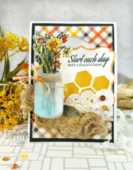 Autumn Card featuring New Release for Unity Stamps and Graciellie Design