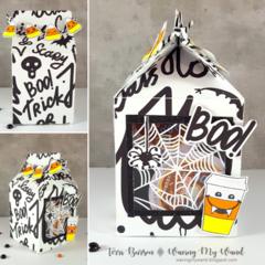 Milk Carton Halloween Treat Box