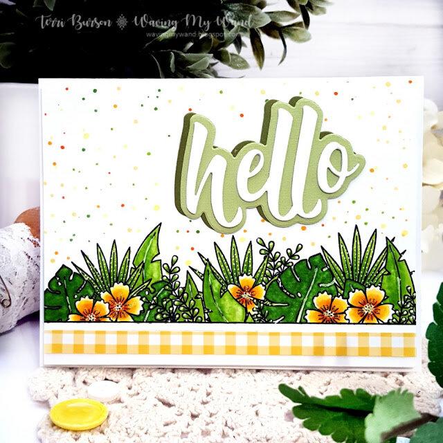 Botanical Summer Card