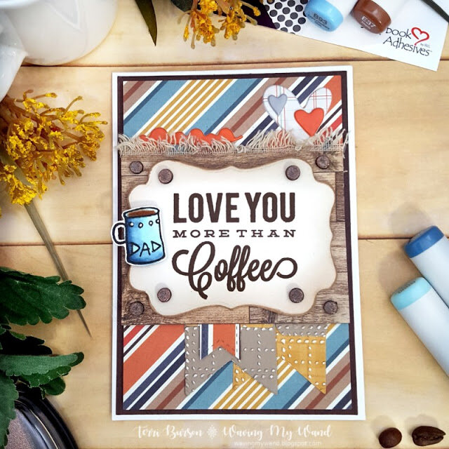 Fathers Day or Masculine Card Plus 1 Minute Craft Hack