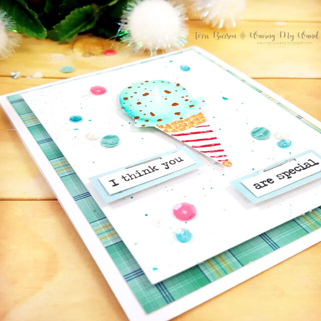Hand Drawn Ice Cream Card