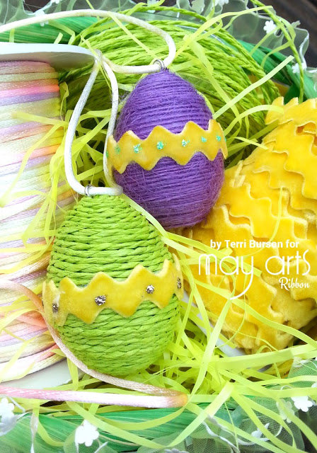 Easter Egg Necklaces for The Ribbon Resource
