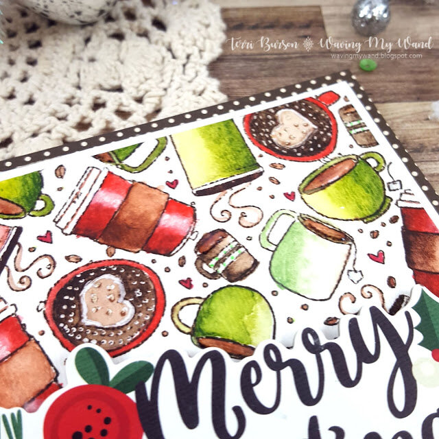 Christmas in July Feature - Colored Holiday Cups