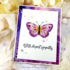 Sympathy Card on National Cardmaking Day