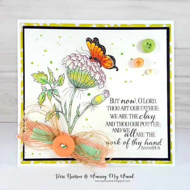 Floral Scripture Card