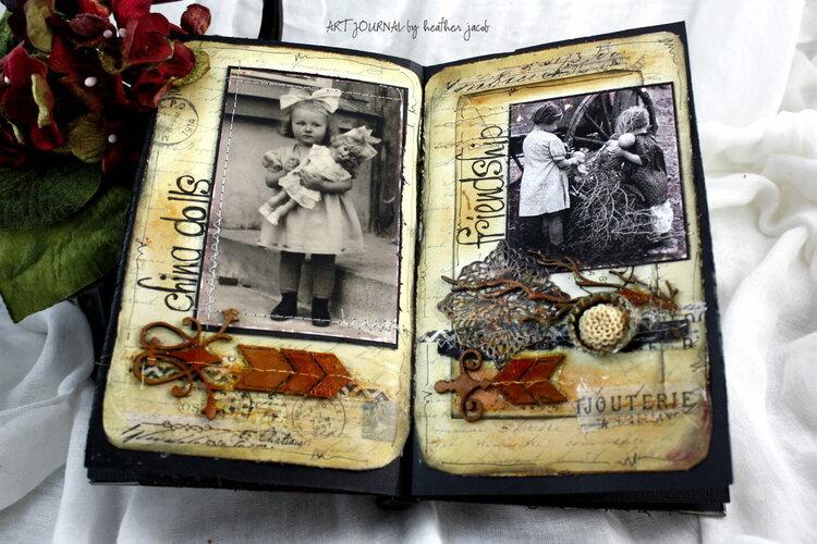 Vintage Art journal