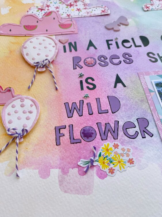 She is a wildflower