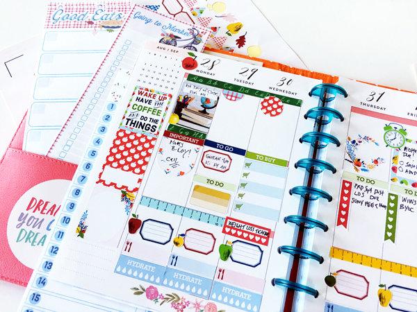 September Mambi Happy Planner Spread
