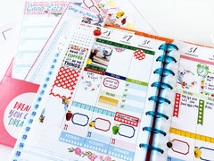 September Mambi Happy Planner Spread