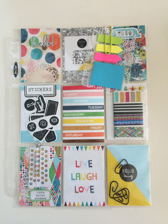 Pocket Letter   Planner Theme