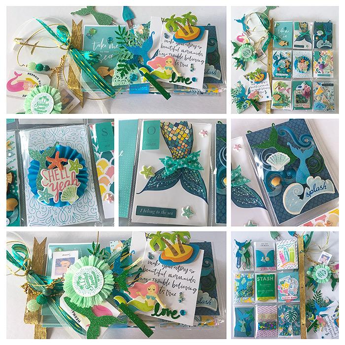 Lilypad Letter Pocket Letter Swap Aug 2019 | Mermaid Theme