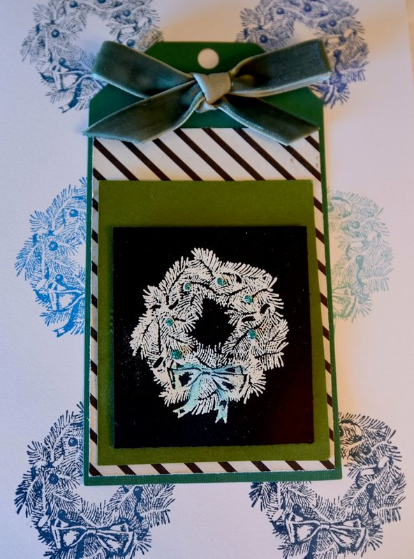 Tag Wreath for the Holidays