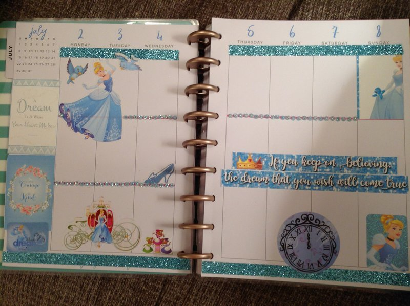 Planner layout