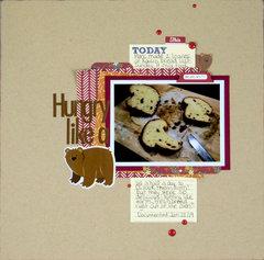 Hungry like a Bear | Diana Poirier