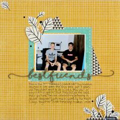 best friends | Diana Poirier | DT assignment for The Studio Challenges