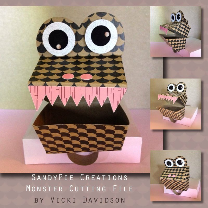 3D monster cutting file