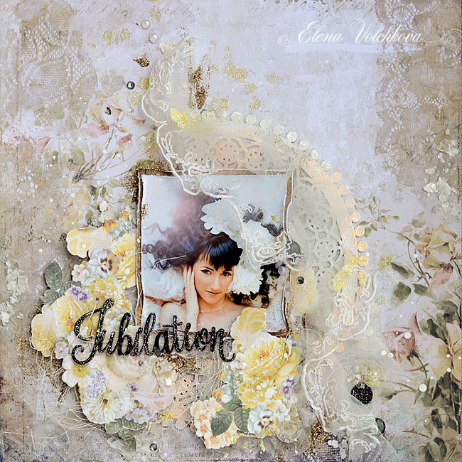 "Blue Fern Studios - ""Jubilation"" layout"