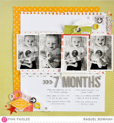 7 Months *Pink Paislee & Pagemaps'