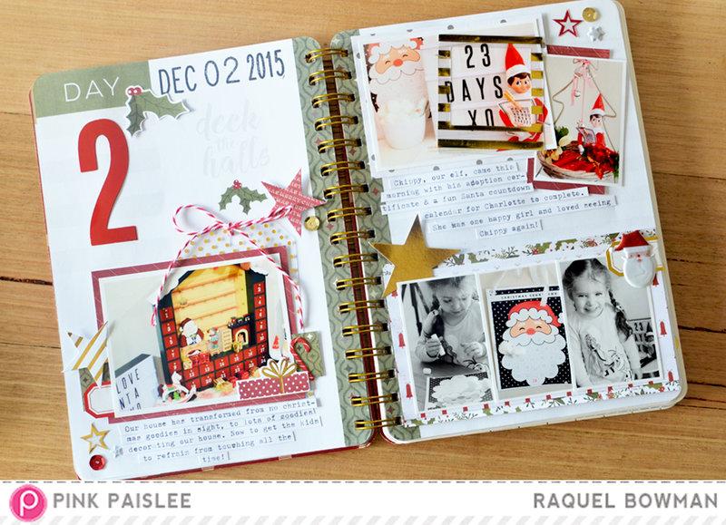 Christmas Countdown: Day 2 *Pink Paislee*