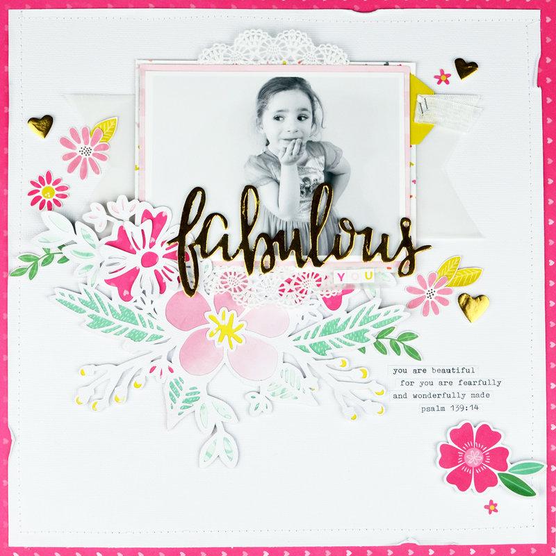 Fabulous You - Pink Paislee