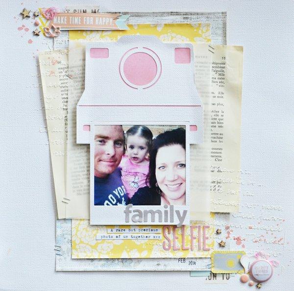 Family Selfie - Raquel Bowman