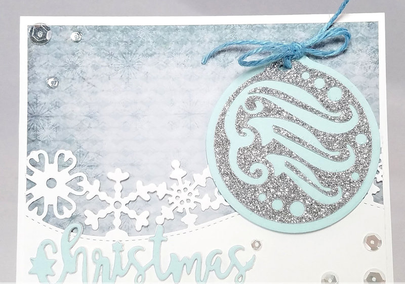 Ornament and border card