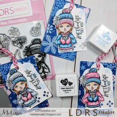 Hot Chocolate Cold Nose Christmas Tags tutorial
