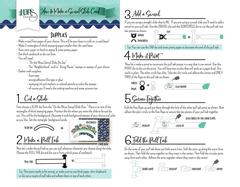 Swivel Slide Instruction Sheet Page 1