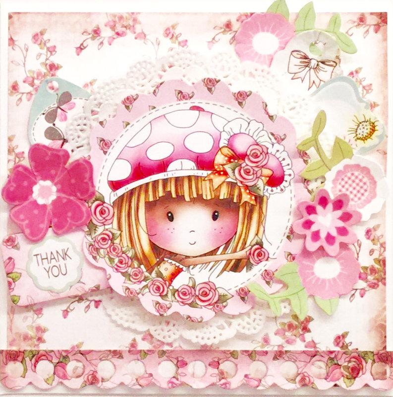 Winnie Sugar Blossom card kit