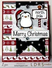 Cute Christmas Card w/ Penguins!