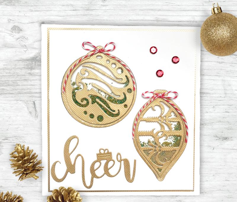 Ornament Shaker Card