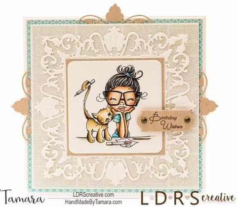 Crafty Cat Card