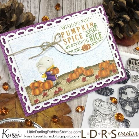 Masking your stamps tutorial and finished card
