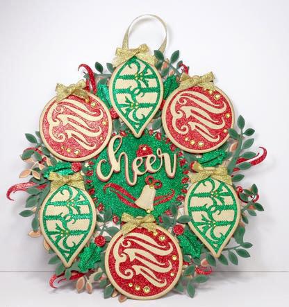 Glittery Wreath