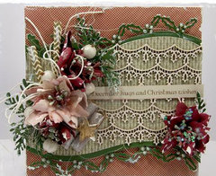 Holly Border Die card